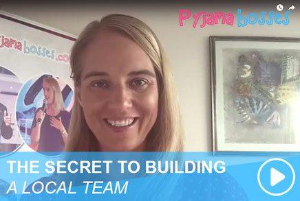THE SECRET TO BUILDING A LOCAL TEAM