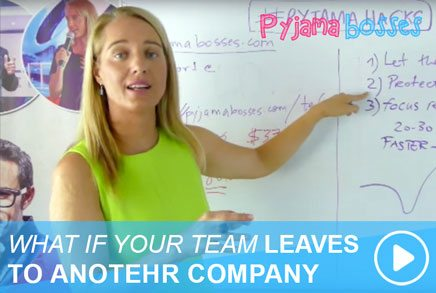 WHAT IF YOUR TEAM LEAVES TO ANOTEHR COMPANY