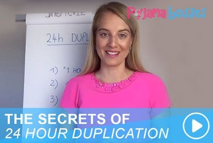 THE SECRETS OF 24 HOUR DUPLICATION