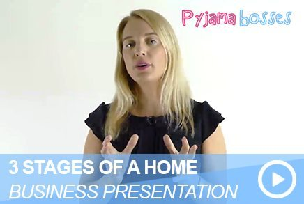 3 Stages Of A Home Business Presentation