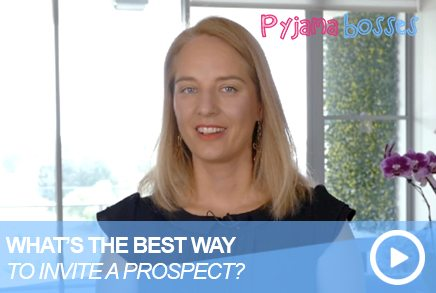 What Is The Best Way To Invite A Prospect?