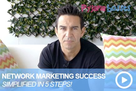 NETWORK MARKETING SUCCESS Simplified In Five Steps!