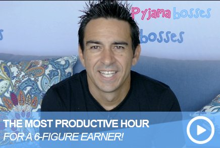The Most Productive Hour For A Six Figure Earner