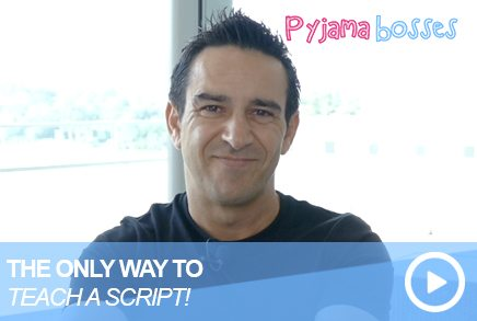 The Only Way To Teach A Script